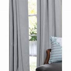 Exclusive Fabrics Signature Grey Blue Velvet 108 Inch