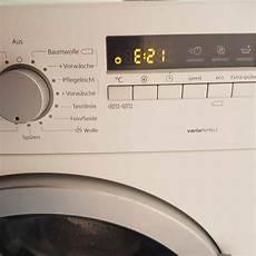 Waschmaschine Siemens Iq300 Wm14k270ex 11 Fehler E21