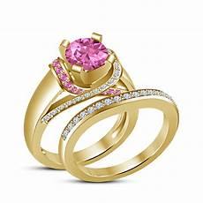 s 925 sterling silver multi color disney princess bridal ring cz moissanite