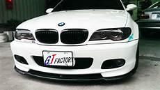 new for bmw e46 m tech m sport front bumper use carbon