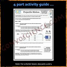 phet projectile motion activity guide by gonyo tpt