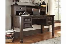 ashley furniture home office desks townser home office desk with hutch ashley furniture