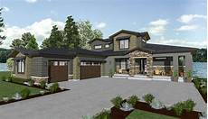 sloping house plans house plan for a rear sloping lot 64452sc