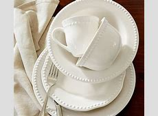Emma Dinnerware 16 Piece Set with Soup Bowl   White