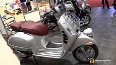 2017 vespa gtv 300 ie abs scooter walkaround 2016