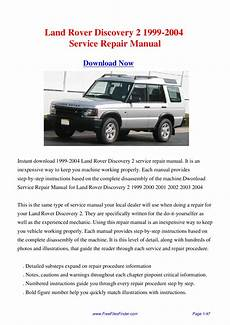 free auto repair manuals 1999 land rover discovery windshield wipe control land rover discovery 2 1999 2004 service repair manual by hong lii issuu