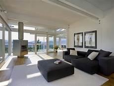 schöne häuser innen hersteller huf wohnzimmer mit terrasse bild 2
