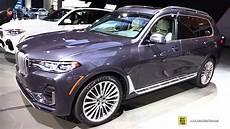 2019 bmw x7 50i xdrive exterior and interior walkaround debut at 2018 la auto show youtube