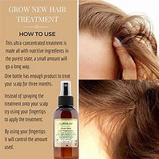 just natural products grow new hair treatment the best way to encourage hair to grow faster