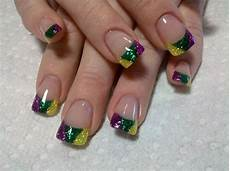 mardi gras nail art you can do at home using lds dipping