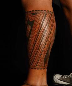 Maori Wade - amazing maori on leg tattooimages biz