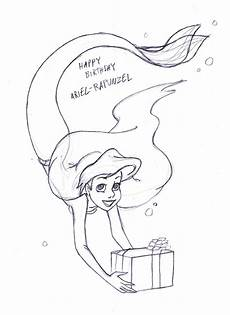 ausmalbilder rapunzel malvorlagen happy birthday