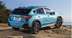 2019 subaru xv 2019 subaru xv crosstrek hybrid officially revealed