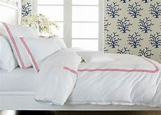 Pink And White Duvet Covers white duvet cover with pink embroidery ethan allen