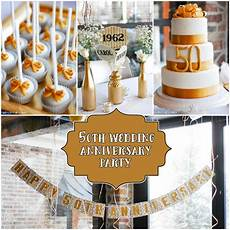 Ideas For Wedding Anniversary Celebration 25th and 50th anniversary ideas silver and gold