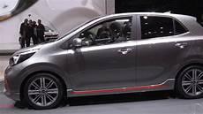 New 2017 Kia Picanto Gt Line At 2017 Geneva Motor Show