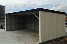 Garage Ouvert Abris V 233 Hicules Pour Pro Toit Pente Arri 232 Re