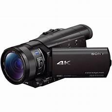 Sony Fdr Ax100 4k Ultra Hd Camcorder Fdrax100 B B H Photo