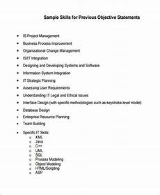 generic resume objective 5 exles in word pdf