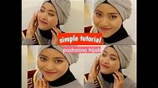 Tutorial Pashmina Simple Vivta Fardani
