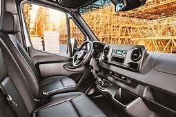 2019 Mercedes Benz Sprinter Passenger Van Interior Photos
