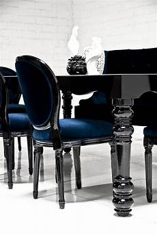 Black Dining Room Table by Bel Air Dining Table In High Gloss Black Home Dining