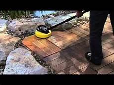 brosse de terrasse karcher astuce vid 233 o nettoyer une terrasse