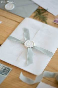 How To Seal Wedding Invitations neutral wedding invitation with vellum and wax seal