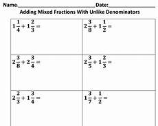 adding fractions with like denominators worksheet 1