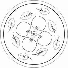 apfel mandala ausmalbilder schneewittchen und die 7
