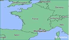 location montpellier where is montpellier montpellier languedoc roussillon map worldatlas