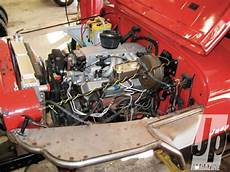 Chevy 350 Tpi V8 Into Tj Jeep Thang Engine Jeep