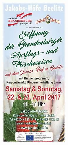 Landpartie 2017 Brandenburg - er 246 ffnung der brandenburger ausflugs und frischesaison