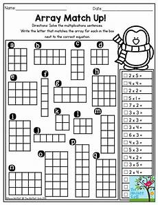 multiplication worksheets with arrays 4662 array match up solve the multiplication sentences and write the letter that matches the array