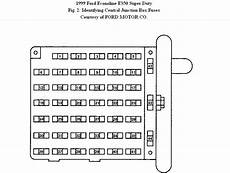 1999 e150 fuse box i need the fuse box layout for a 1999 ford econoline f359 with a v10