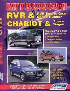 free online auto service manuals 1994 mitsubishi chariot download free toyota 3s fe 3s fse 1996 2003 repair manual maintenance and operation of the