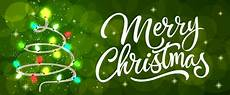 merry christmas calligraphy with lights free vector
