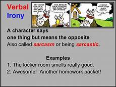 three types of irony lesson
