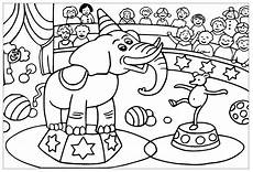 Malvorlagen Zirkus Circus For Children Circus Coloring Pages