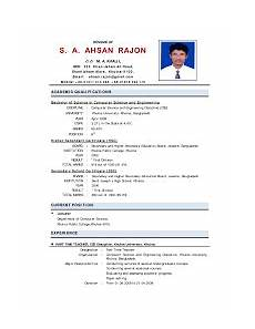 image result for how to make resume for teacher in india teacher resume resume format