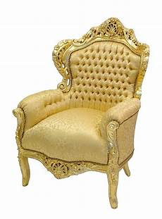 sessel stuhl armlehnsessel massivholz antik barock stil