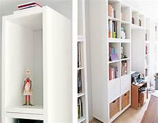 Ikea Hack Regal - mega regalwand aus ikea kallax regalen ikea hacks