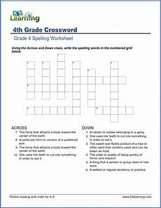 fourth grade spelling worksheets k5 learning
