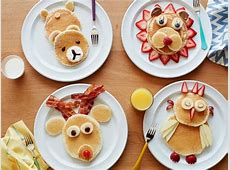 Pancake Animals: Food Network   Cooking With Kids : Food