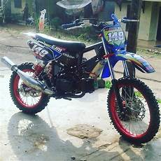 Modifikasi Grasstrack Bebek Standar by 85 Modifikasi Motor Trail Bebek Standar Modifikasi Trail