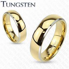 mens womens tungsten gold silver dome band ring wedding couples sizes 5 13 184 ebay