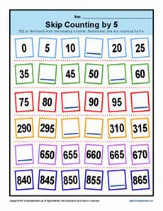 skip counting by 50s worksheets 12075 skip counting by 5s worksheets 2nd grade math