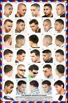 hair style list haircut poster 061hsm in 2020 hair barber barber poster