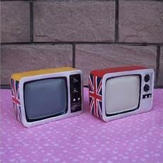 Retro Tv Piggy Bank Home Decoration Child Gift