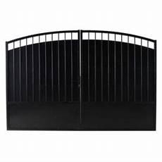 Portail Fer Blooma Oria Noir 300 X H 200 Cm Castorama